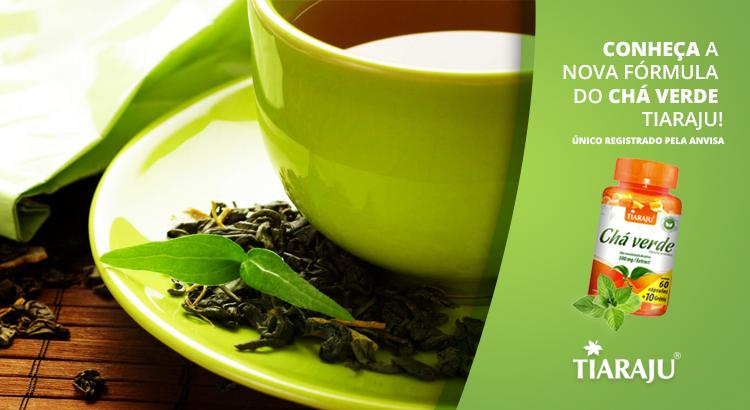 Conheça a nova fórmula do chá verde Tiaraju!