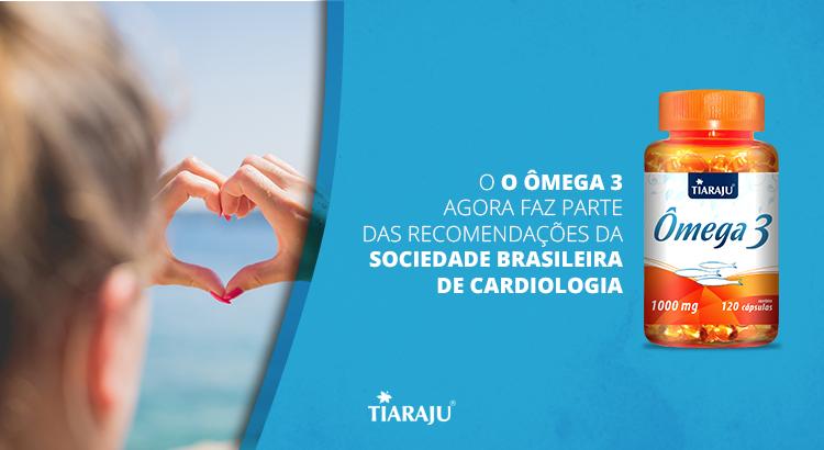 O ômega 3 agora faz parte das recomendações da Sociedade Brasileira de Cardiologia