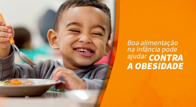 Boa alimentação na infância pode ajudar contra obesidade