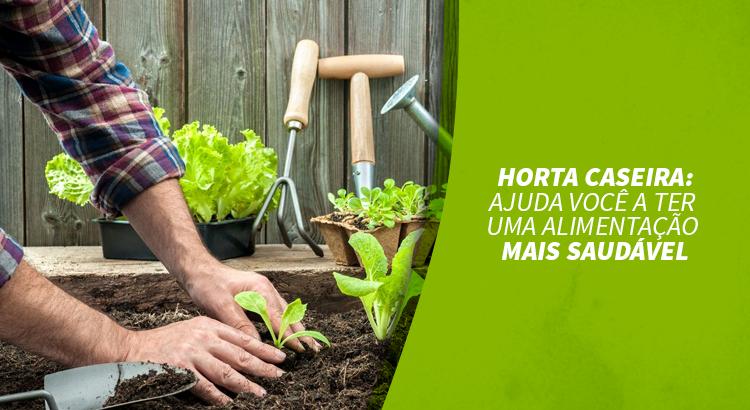 Horta Caseira: ajuda você a ter uma alimentação mais saudável
