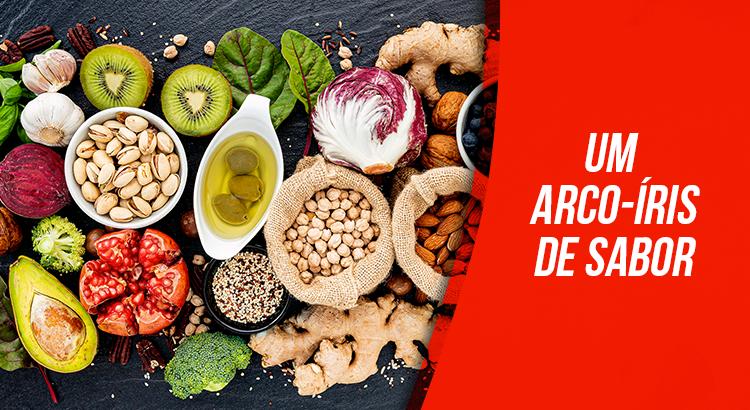 Transforme sua alimentação em um arco-íris de sabores