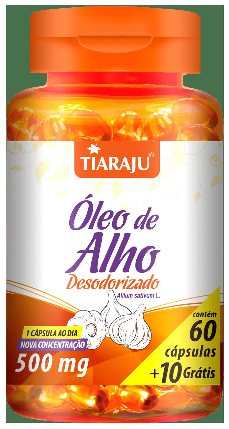 Óleo de Alho Desodorizado