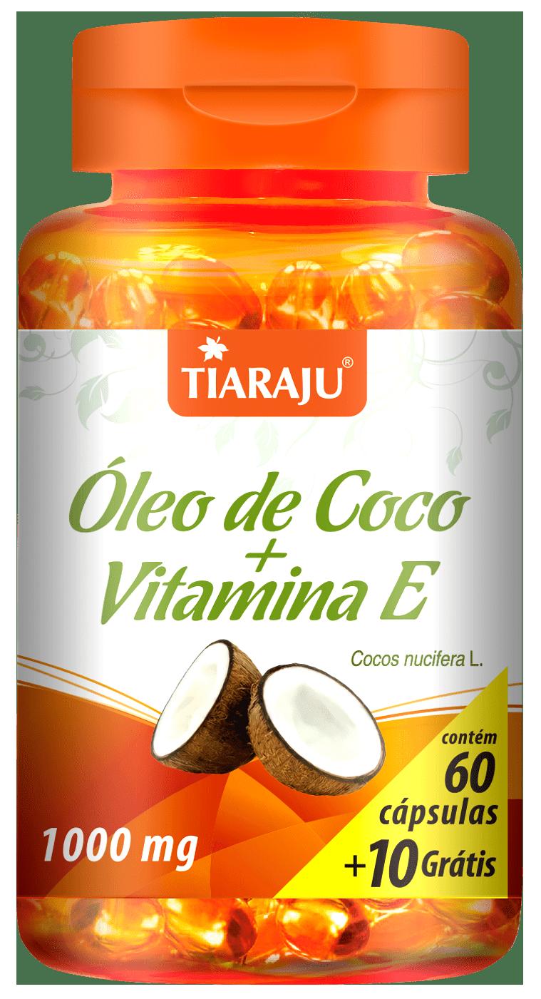 Óleo de Coco com Vitamina E