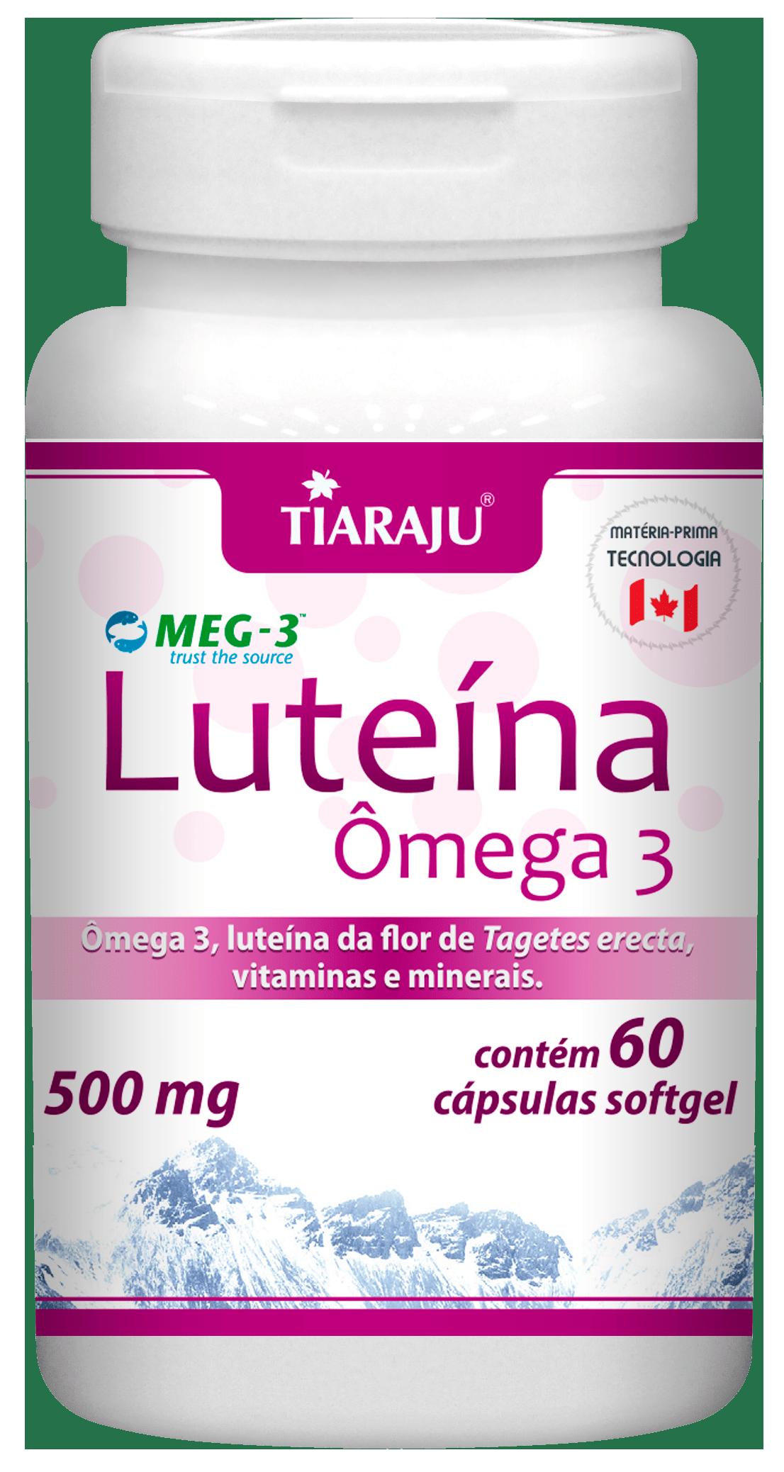 Luteína Ômega 3