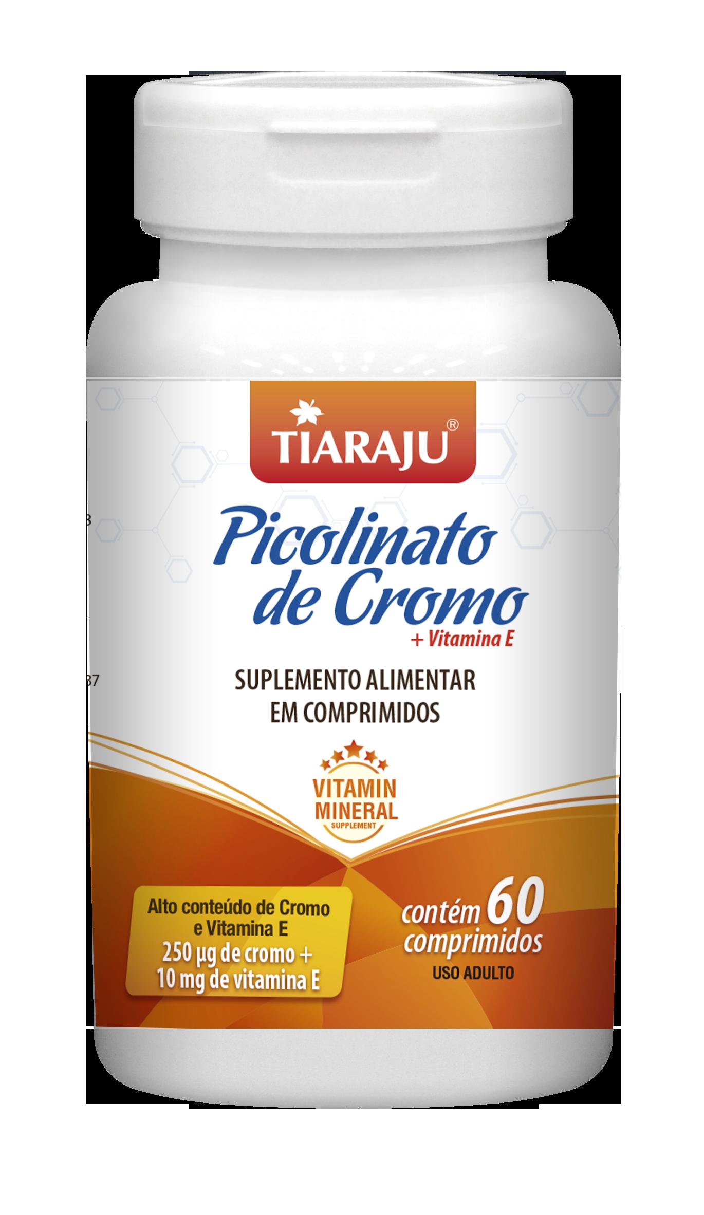 Picolinato de Cromo + Vitamina E